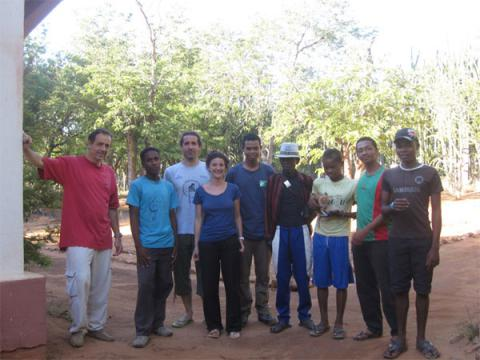 Research Team - Researchers, students and field assistants (Berenty reserve)
